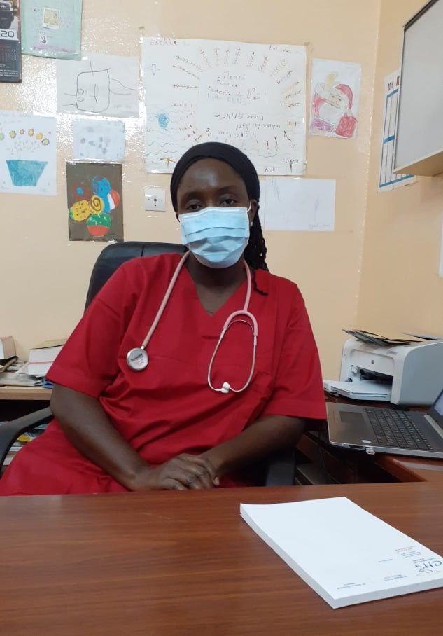 Assistan Soumare, Ärztin in einer Privatklinik in Mali