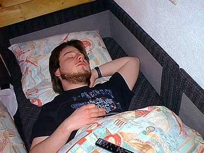 Andreas Pretzsch schläft dann, wenn andere wachen