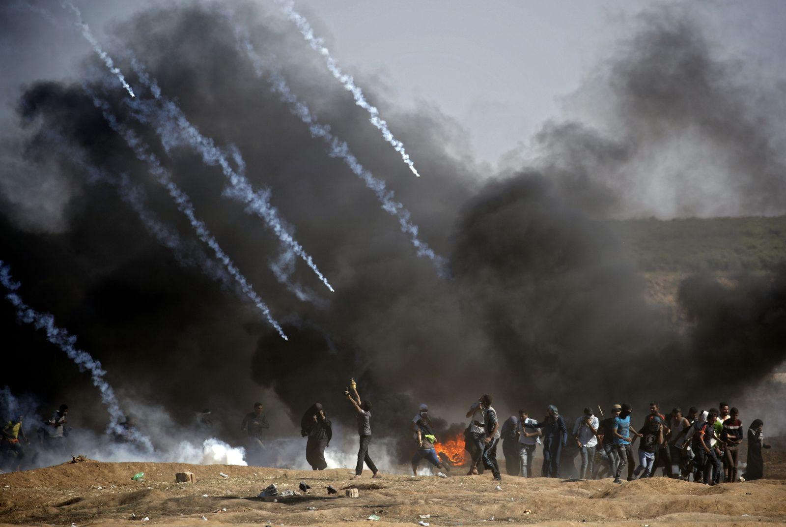 Gaza/ Proteste