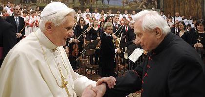 """Benedikt XVI., Bruder Georg (im Januar): """"Schwerer, historischer Fehler"""""""