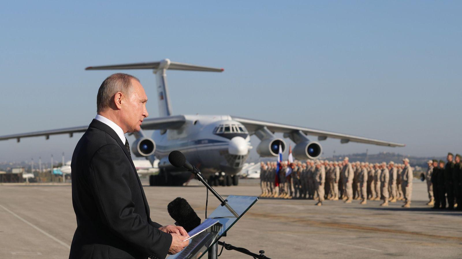 Syrien/ Putin/ Abzug