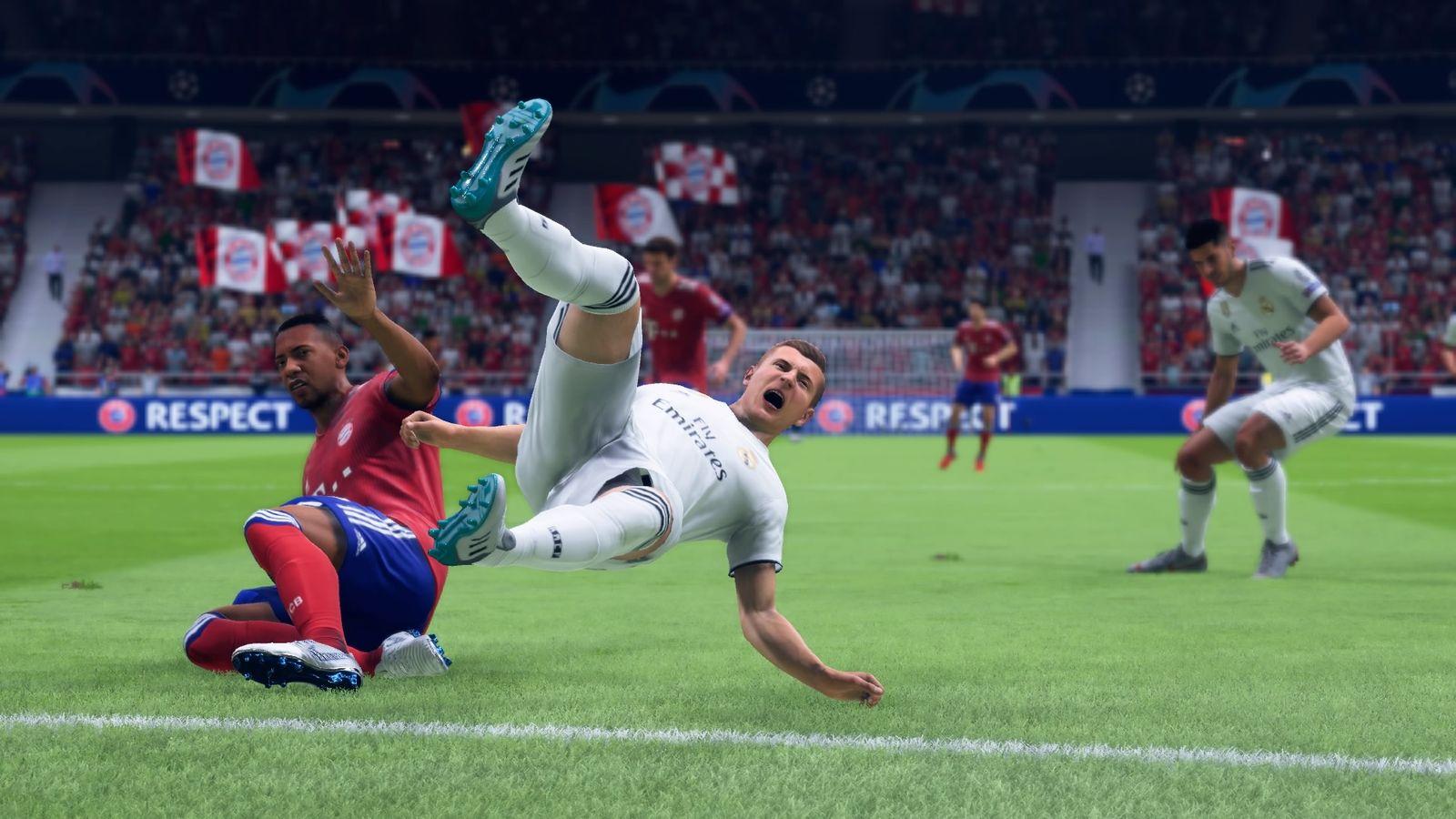 EINMALIGE VERWENDUNG Fussballgames Markus Danial/ Fifa 19