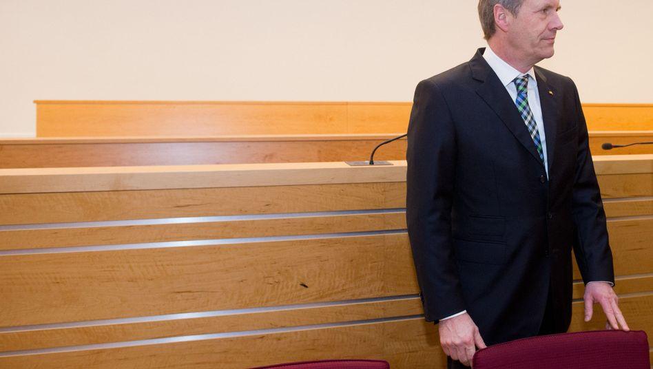 """Ex-Bundespräsident Wulff im Gerichtssaal: """"Der Brief war überlebenswichtig"""""""
