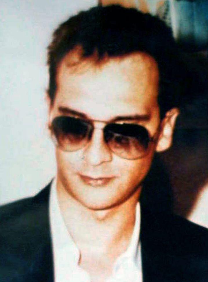 Undatiertes Archivbild des Mafiabosses