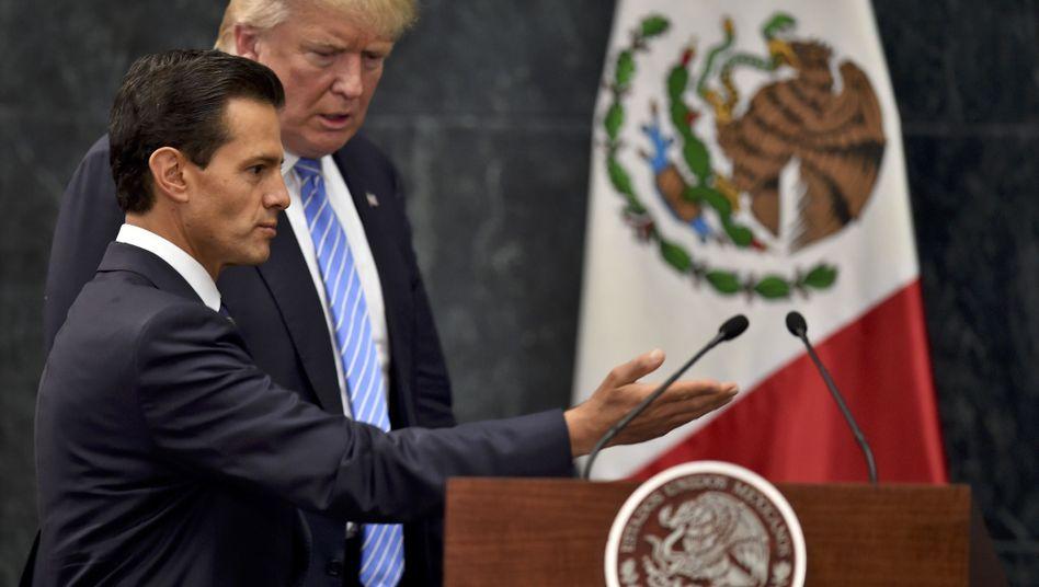 Enrique Peña Nieto und Donald Trump