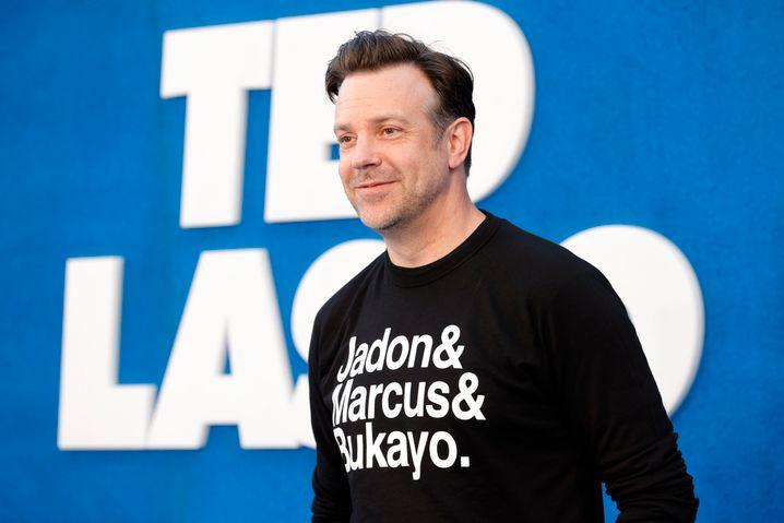 »Ted Lasso«-Star Sudeikis: T-Shirt-Solidarität mit englischen Elfmeterschützen