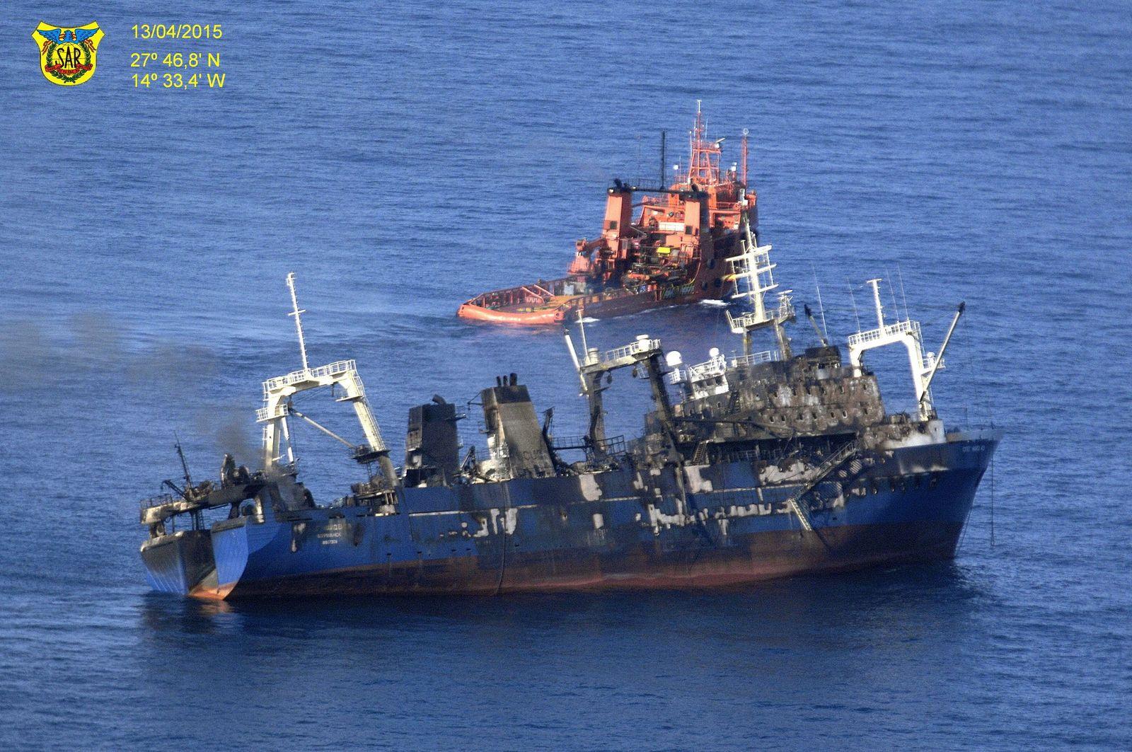 Schiffsunfall Kanaren