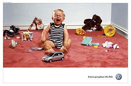 VW-Werbung: Für diese Kampagne erhielt DDB unter anderem Silber beim ADC