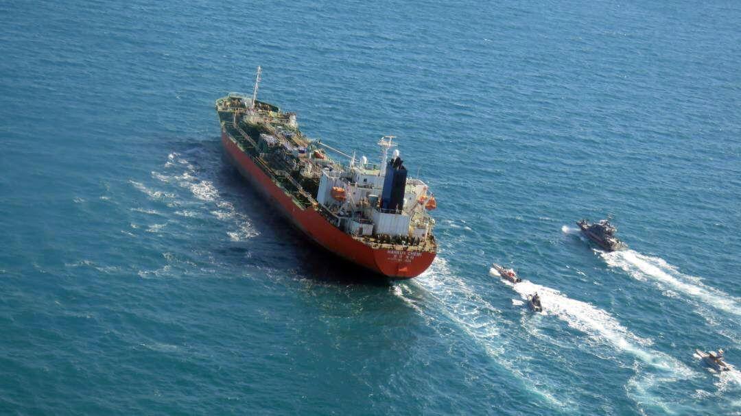 Iran seized South Korean flagged tanker, Persian Gulf, Iran Islamic Republic Of - 04 Jan 2021
