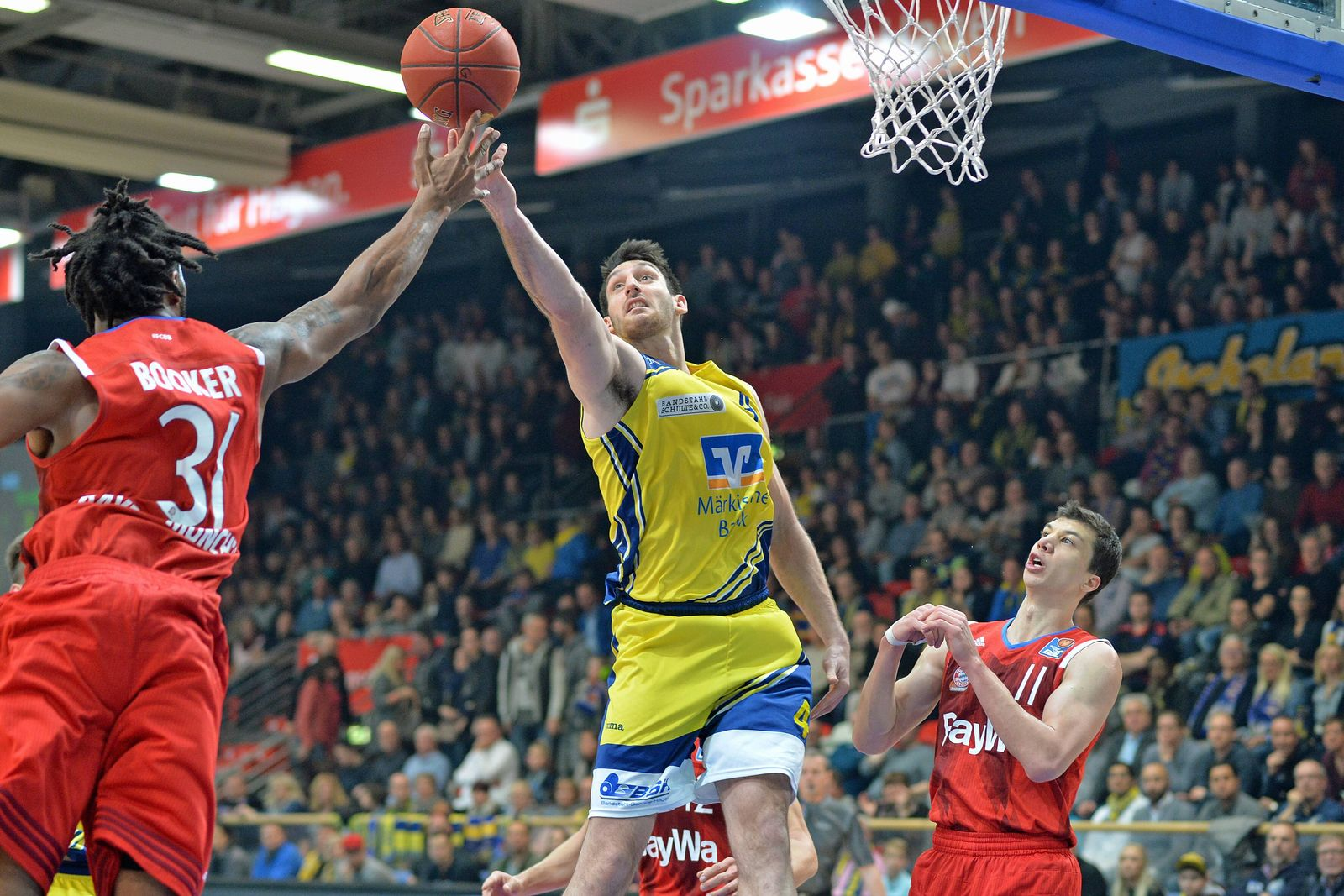 EINMALIGE VERWENDUNG Basketball / Hagen / Bayern