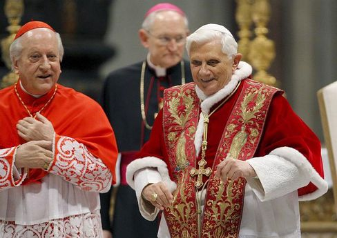 Pope Benedict XVI has caused an uproar by retracting the excommunication of a Holocaust-denying bishop.