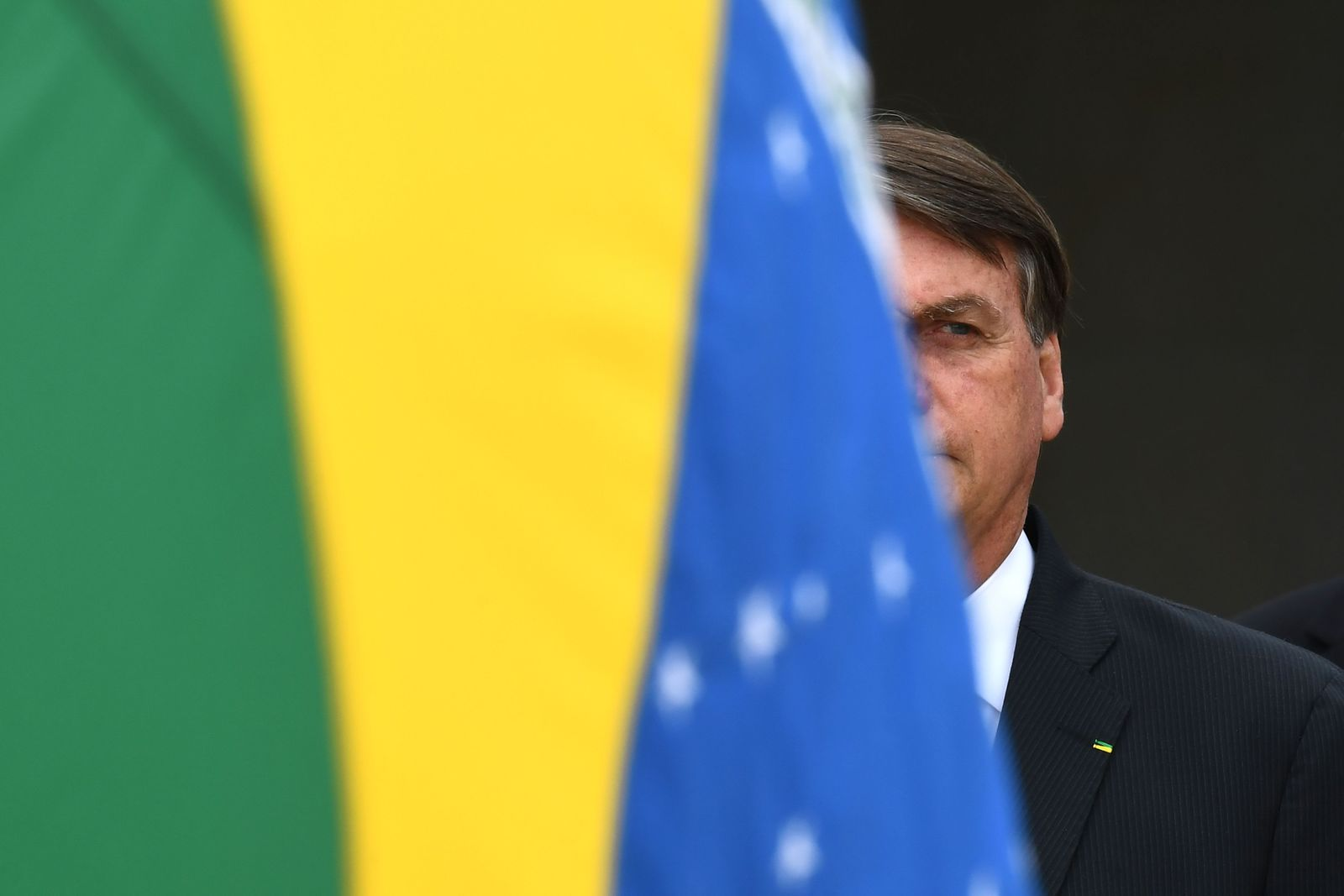 BRAZIL-GOVERNMENT-BOLSONARO-FLAG DAY