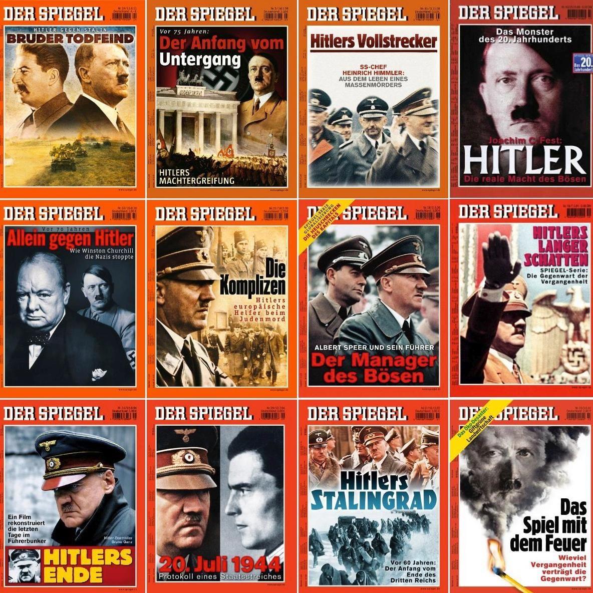 Collage Hitlertitel