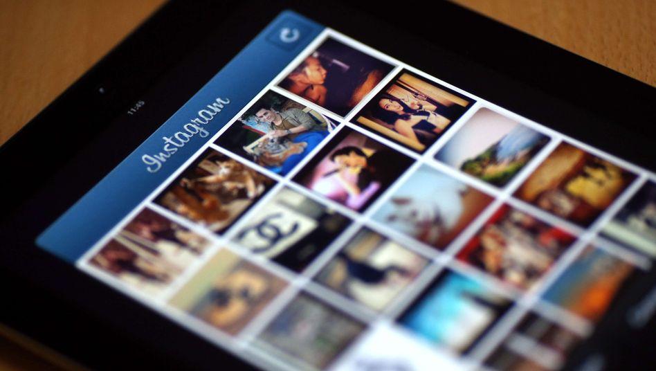 Instagram auf dem Smartphone: Seit Dezember hat sich die Zahl der Poweruser halbiert