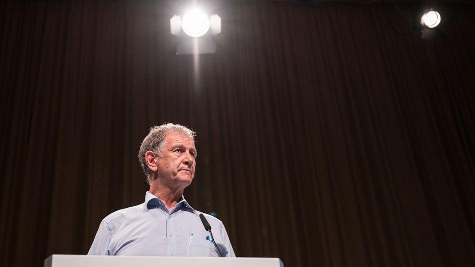 Sorgt für Ärger bei den Grünen: Saarländischer Spitzenkandidat Hubert Ulrich