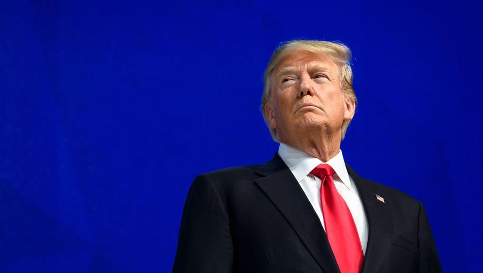 """Donald Trump in Davos (Archiv): """"Größer, besser und stärker als je zuvor"""""""