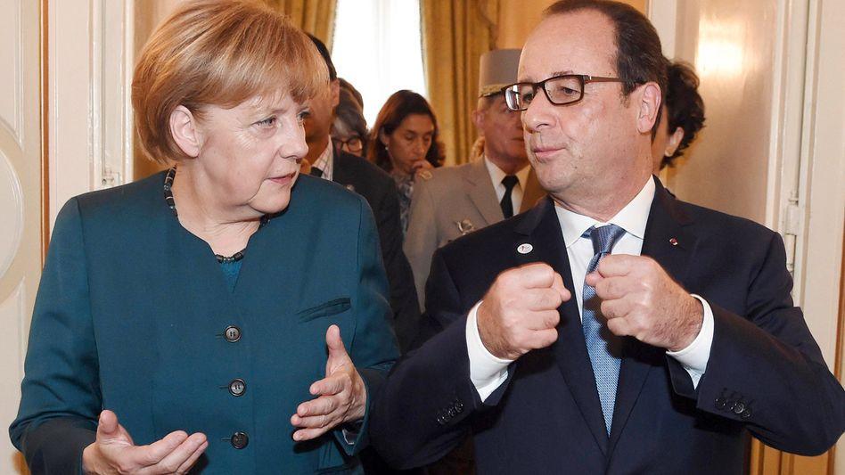 Merkel und Hollande bei Putin und Poroschenko: Intervention in höchster Not