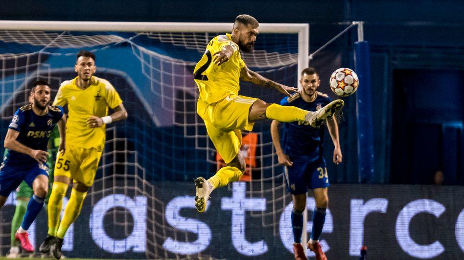 Sheriff Tiraspol setzte sich in den Playoffs gegen Zagreb durch
