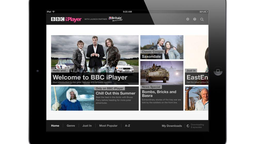 Britisches TV auf dem iPad: BBC veröffentlicht iPlayer-App