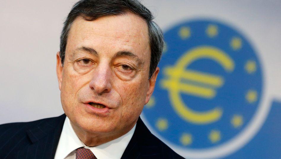 EZB-Präsident Draghi: Rat beschließt Leitzinssenkung