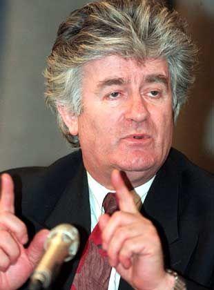 Radovan Karadzic: Immer wieder entwischt