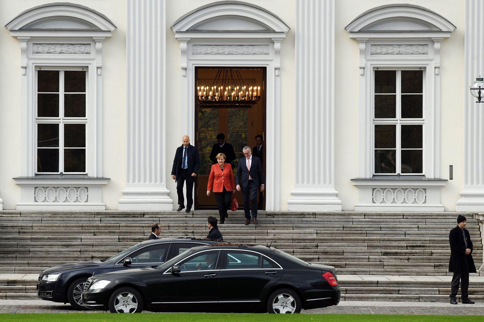Sondierungsgespräche / Merkel