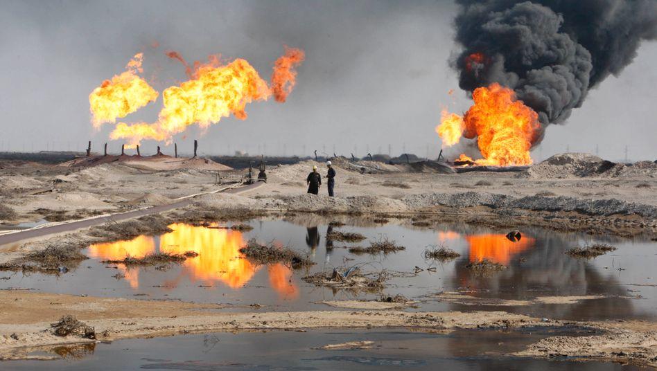 Ölfeld im Irak (Archivbild)