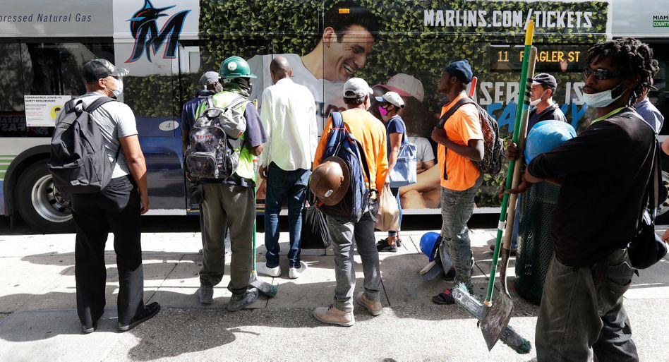 Straßenszene in Miami