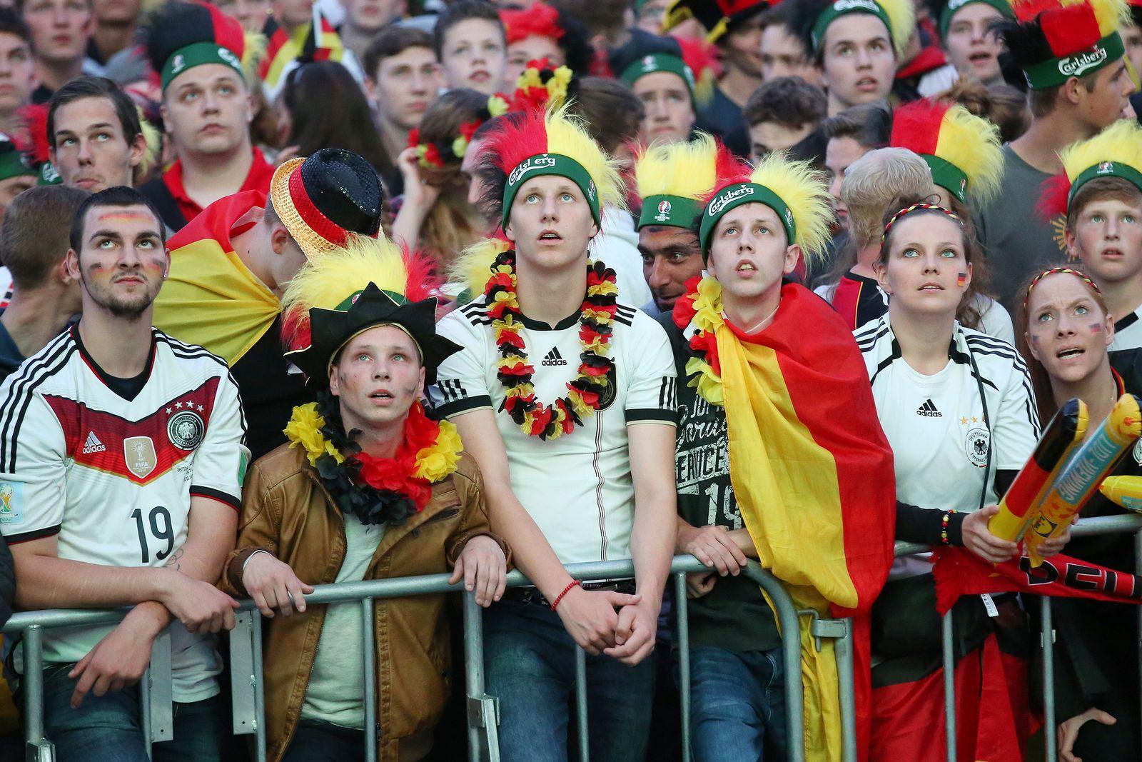 EURO 2016 - Public Viewing Hamburg