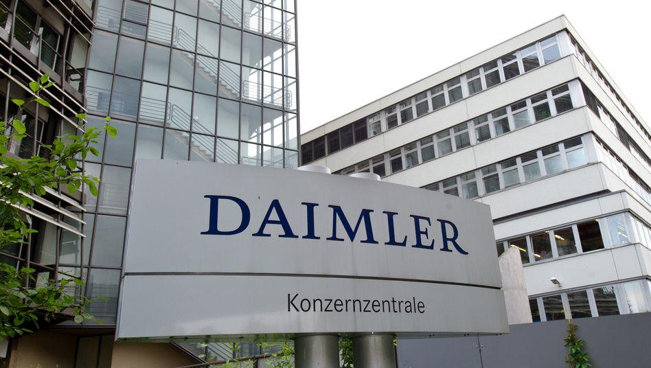 Konzernzentrale in Stuttgart-Untertürkheim