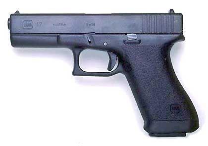 Tödliches Werkzeug: Pistole vom Typ Glock 17
