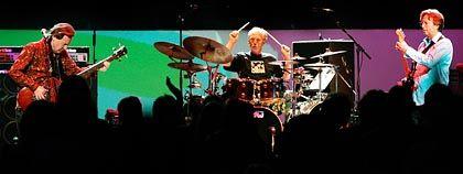 Bruce, Baker, Clapton in der Royal Albert Hall: Riss in der Zeit