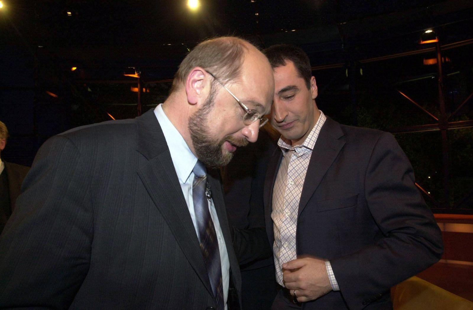EINMALIGE VERWENDUNG Martin Schulz / Cem Özdemir