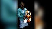 3D-Projektor zeichnet bewegliche Hologramme
