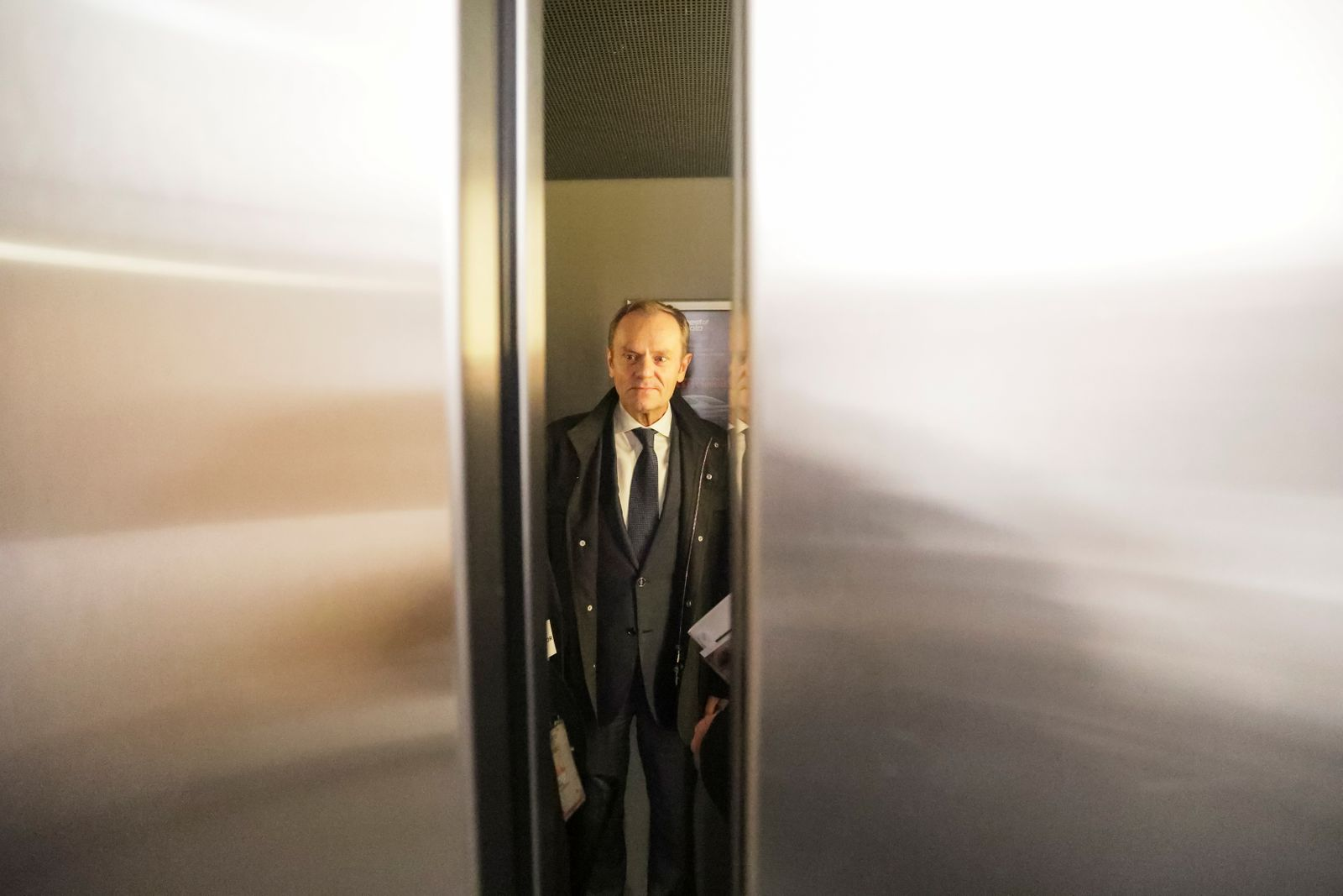 Donald Tusk, a Polish politician and former European Council President, attends a promotion of his personal diary,