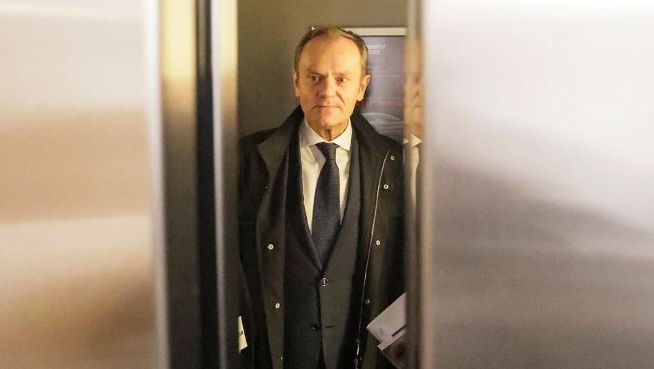 """EVP-Vorsitzender Tusk: """"In der Politik sind Anmutungen oft wichtiger als Fakten"""""""