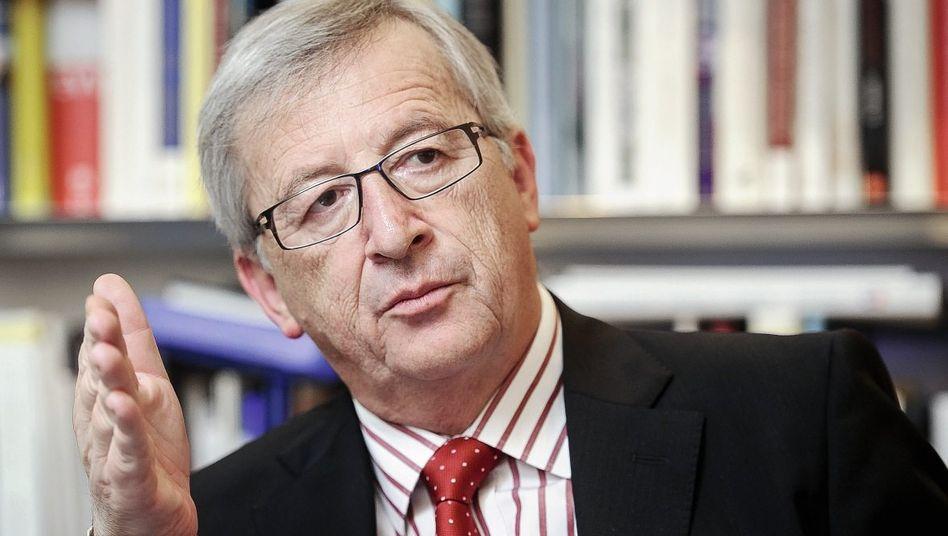 Euro-Gruppen-Chef Juncker: »Es gibt den Euro immer noch«