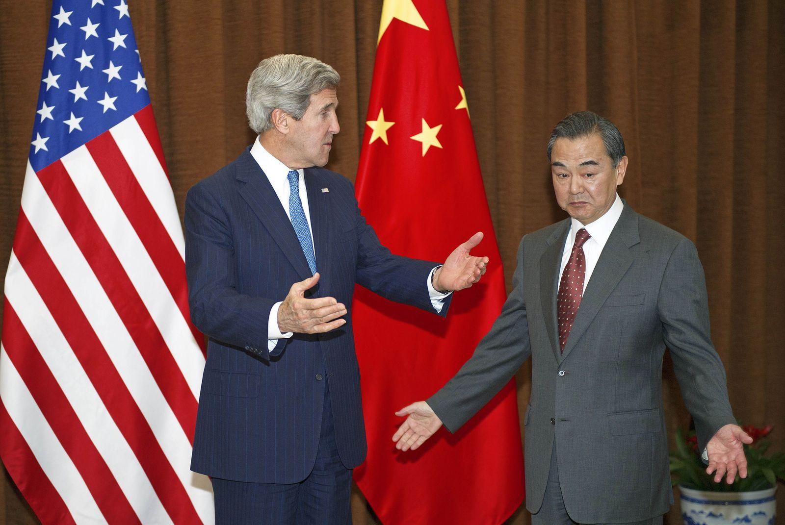 Wang Yi, John Kerry
