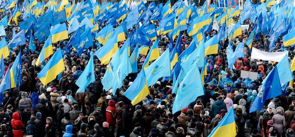 """Proteste in Kiew: """"Alle wollen leben wie in Polen"""""""