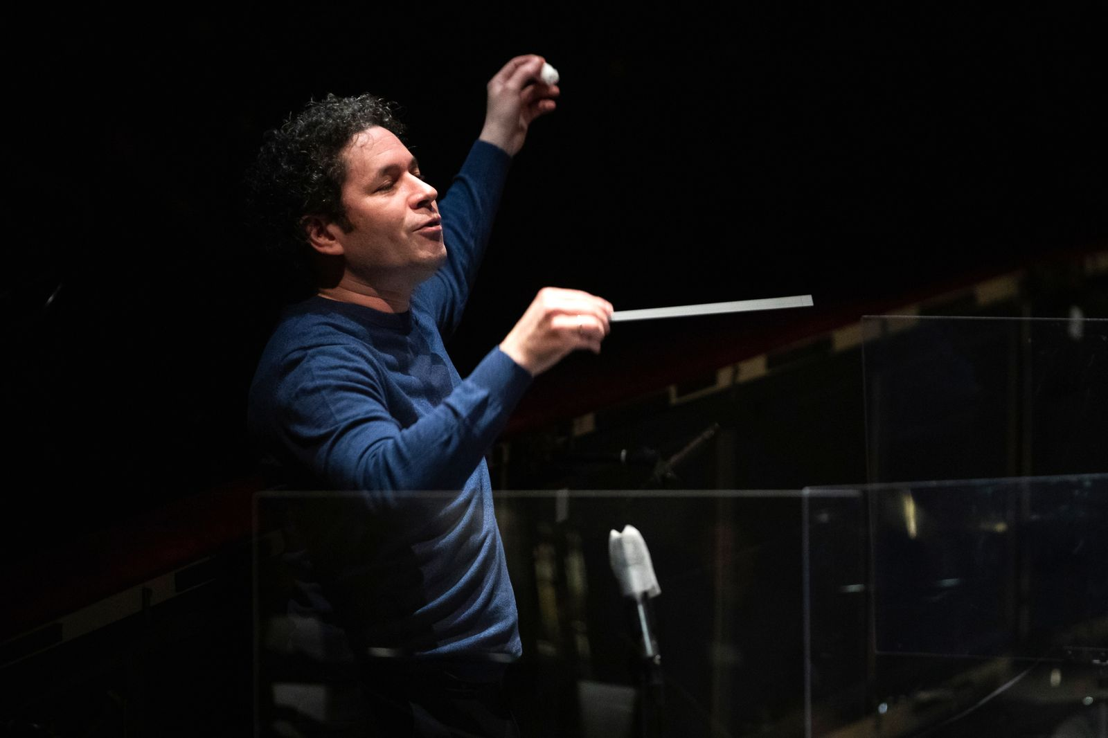 'Otello' Rehearsal At Liceu In Barcelona