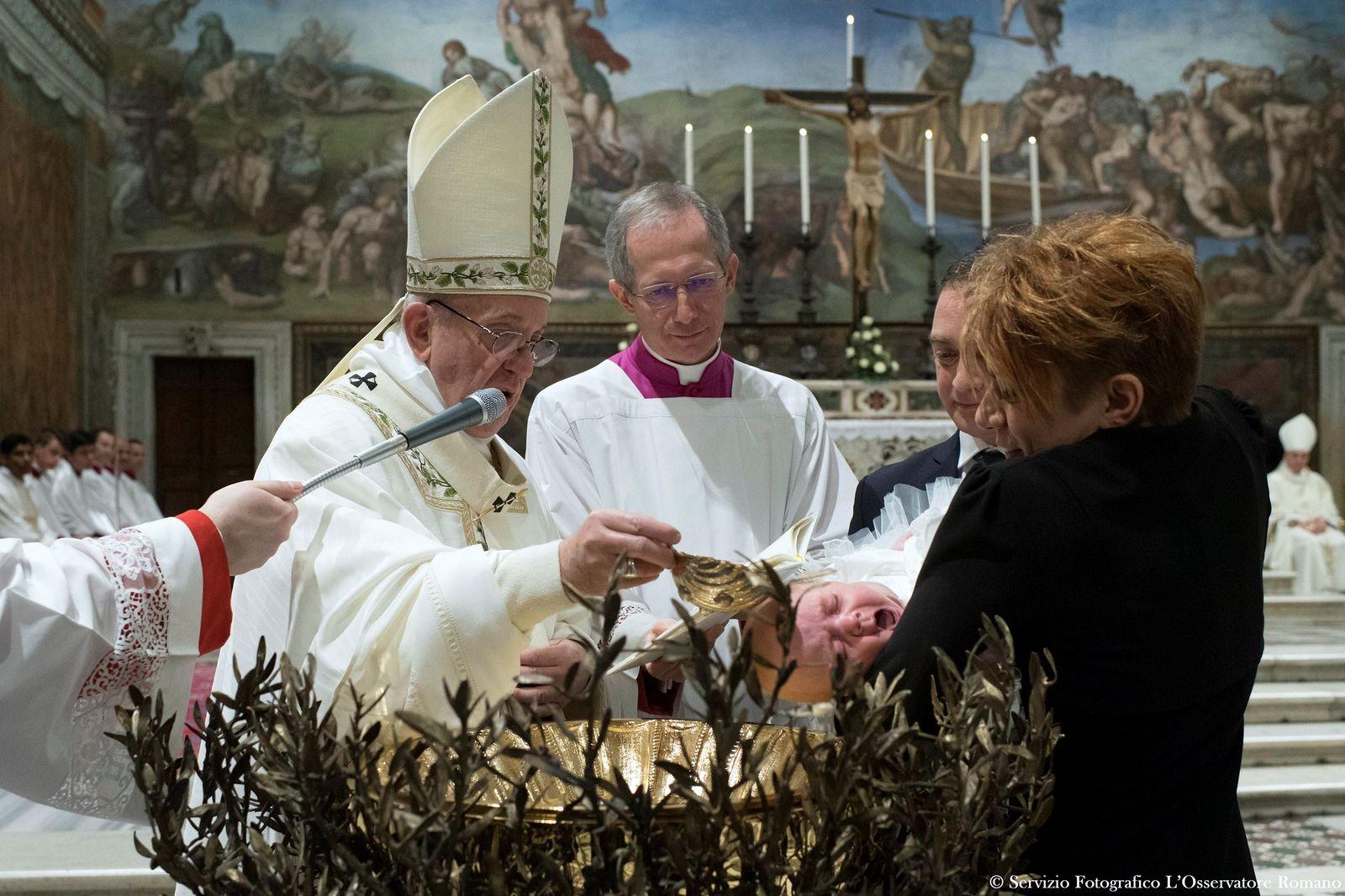 POPE-BAPTISM/