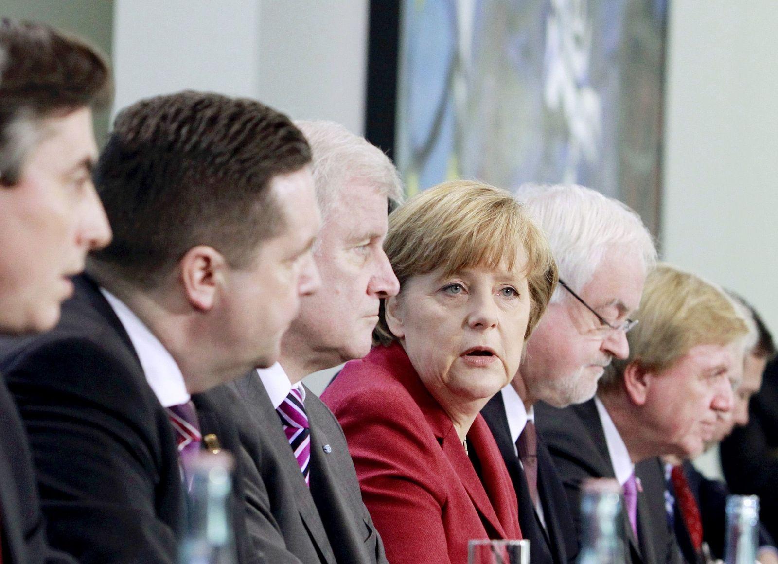 Angela Merkel / Ministerpräsidenten / Atompolitik