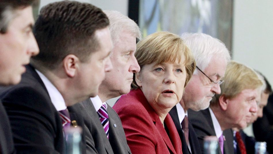 """Chancellor Angela Merkel has put her nuclear policy on hold: """"Everything must be placed under review."""""""