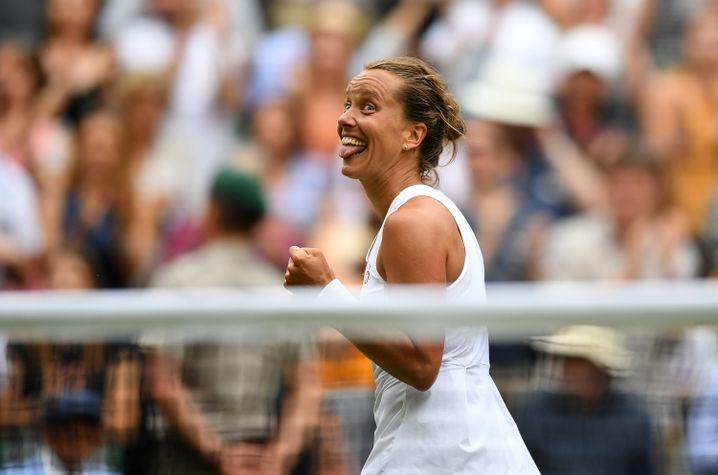 Mit 33 Jahren erstmals in einem Einzel-Halbfinale eines Grand Slams: Barbora Strycova.