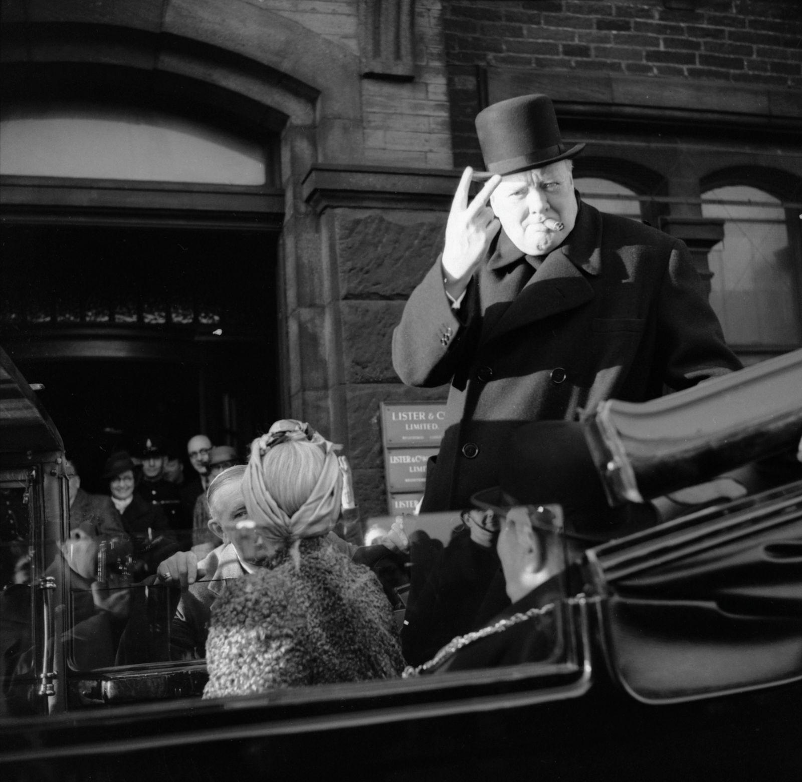 Winston Churchill As Prime Minister 1940-45