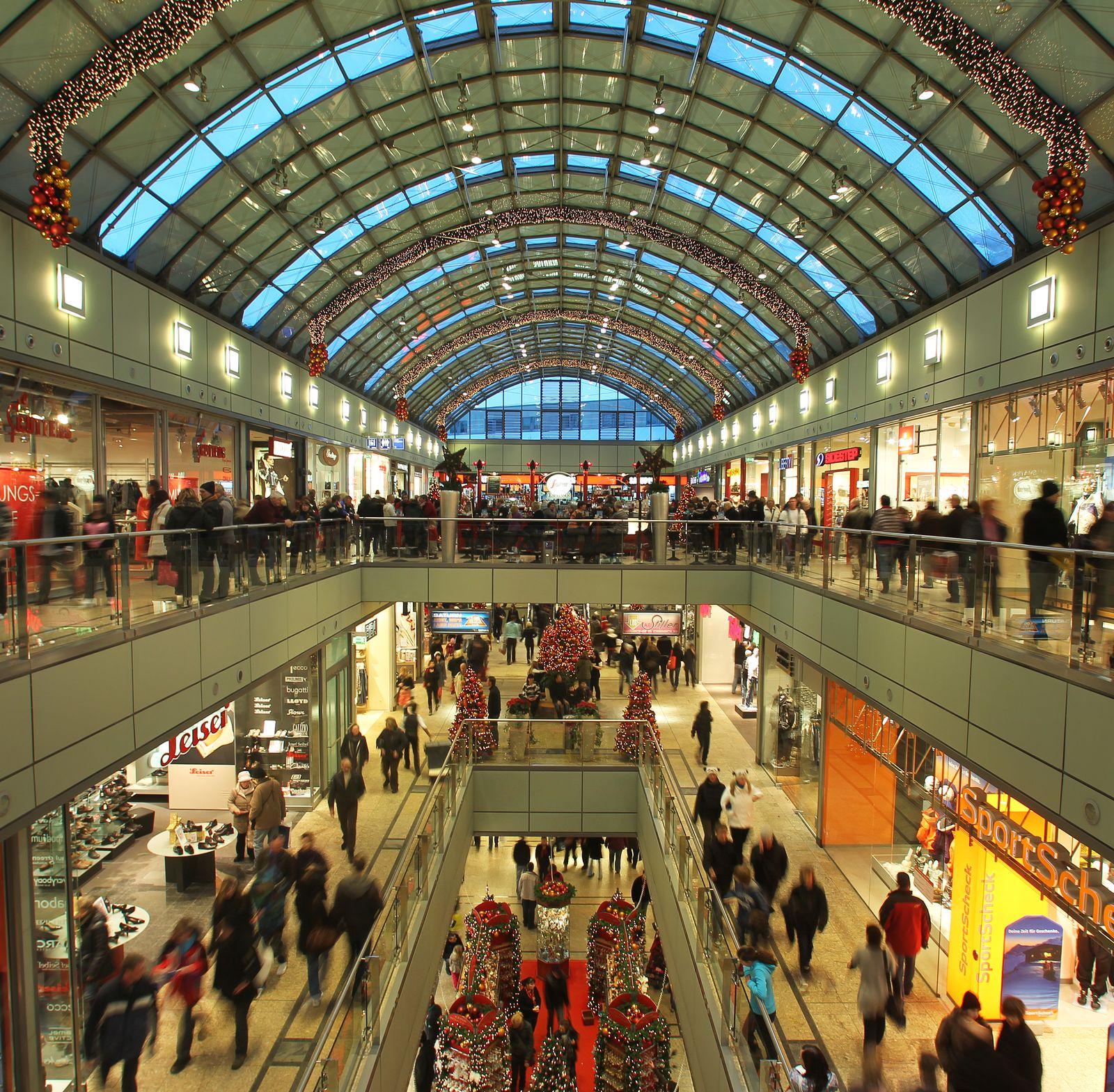 Kaufhaus / Einkaufszentrum / Verbraucher / Kaufkraft
