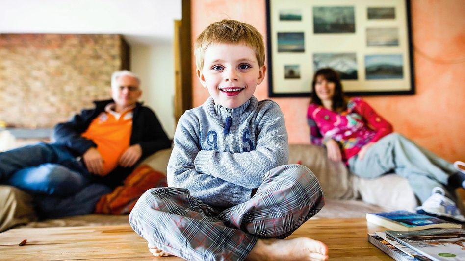 Patient Liam, Eltern: »Jede Stunde schreiend aufgewacht«
