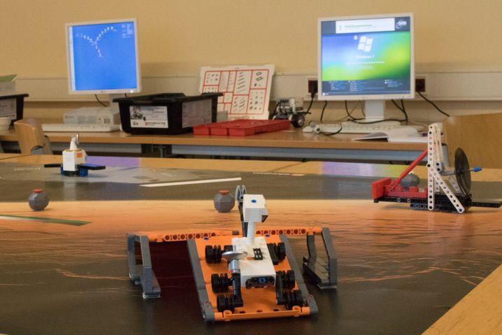 """Mit der """"Mars Mission"""" soll der Physik- und Informatikunterricht Spaß machen"""