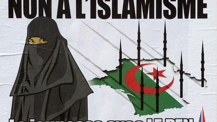 Front National: Anti-Minarett-Kampagne