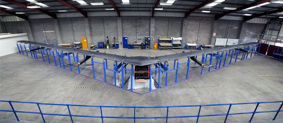 """Die Drohne """"Aquila"""": Internet aus der Luft"""
